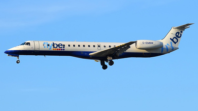 G-EMBW - Embraer ERJ-145EU - Flybe