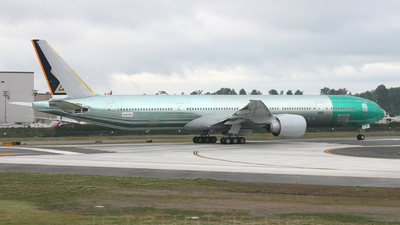 N6009F - Boeing 777-312ER - Singapore Airlines