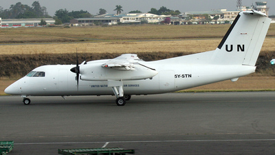 5Y-STN - Bombardier Dash 8-102 - United Nations (UN)