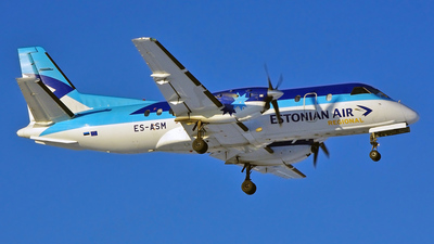 ES-ASM - Saab 340A - Estonian Air Regional