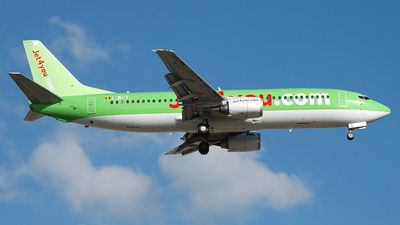 OO-TUI - Boeing 737-4K5 - Jet4You