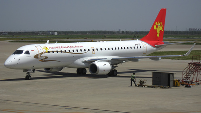 B-3120 - Embraer 190-100IGW - Grand China Express