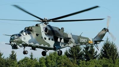 3367 - Mil Mi-24V Hind E - Czech Republic - Air Force