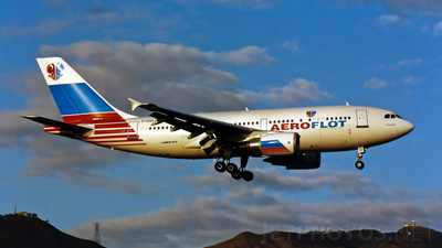 F-OGQQ - Airbus A310-308 - Aeroflot