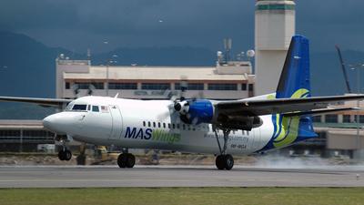9M-MGA - Fokker 50 - MASWings