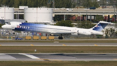 N831NK - McDonnell Douglas MD-83 - Spirit Airlines