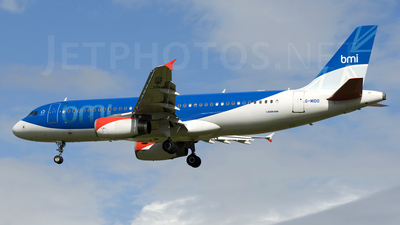 G-MIDO - Airbus A320-232 - bmi British Midland International