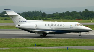 G-GDEZ - British Aerospace BAe 125-1000B - Private