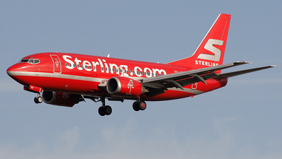 OY-APH - Boeing 737-5L9 - Sterling Airlines