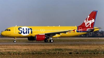 G-VKID - Airbus A320-214 - Virgin Sun