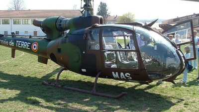 MAS - Aérospatiale SA 342 Gazelle - France - Army