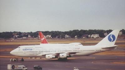 OO-SGD - Boeing 747-329(M) - Sabena