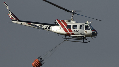 N493DF - Bell EH-1H Huey - United States - California Department of Forestry