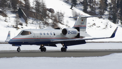 D-CGGG - Bombardier Learjet 31A - GAS Air Services