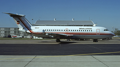 N1547 - British Aircraft Corporation BAC 1-11 Series 203AE - Air Illinois