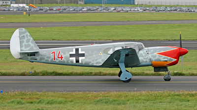 G-BSMD - Nord 1101 Nordalpha - Private
