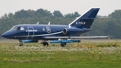 G-FRAW - Dassault Falcon 20C - Flight Refuelling Aviation
