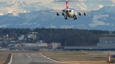 HB-IXU - British Aerospace Avro RJ100 - Swiss