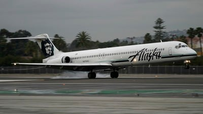 N976AS - McDonnell Douglas MD-83 - Alaska Airlines