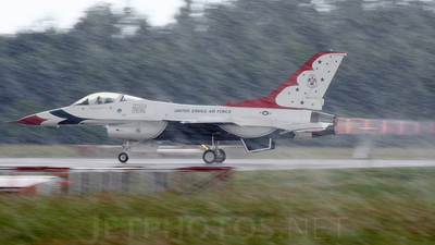 87-0303 - General Dynamics F-16C Fighting Falcon - United States - US Air Force (USAF)