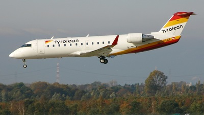 OE-LCF - Bombardier CRJ-200LR - Tyrolean Airways