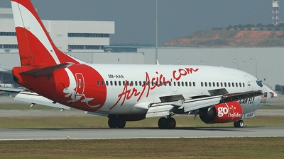9M-AAA - Boeing 737-3Y0 - AirAsia