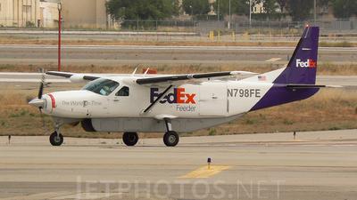 A picture of N798FE - Cessna 208B Super Cargomaster - FedEx - © Mike Egan