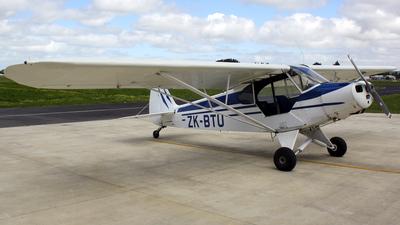 ZK-BTU - Piper PA-18 Super Cub - Private