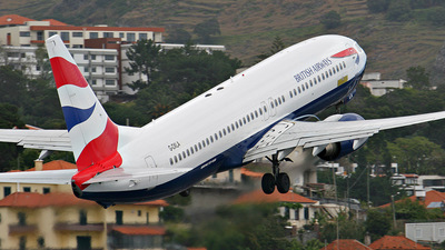 G-OXLA - Boeing 737-81Q - British Airways (XL Airways)