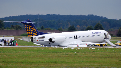 D-AFKE - Fokker 100 - Contact Air