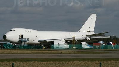 A6-GDP - Boeing 747-2B4B(SF) - United Arab Emirates - Dubai Air Wing