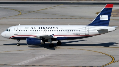 N831AW - Airbus A319-132 - US Airways (America West Airlines)
