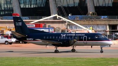 N341CJ - Saab 340B - US Airways Express (Colgan Air)