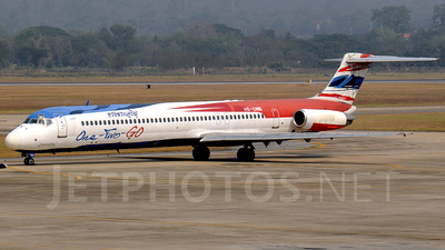 HS-OMB - McDonnell Douglas MD-82 - One-Two-GO by Orient Thai