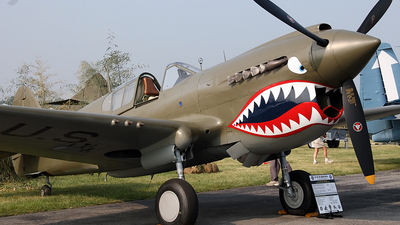 N9837A - Curtiss P-40E Warhawk - Private