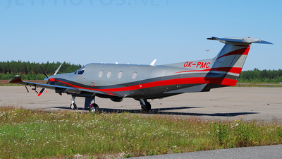 OK-PMC - Pilatus PC-12/47E - Private