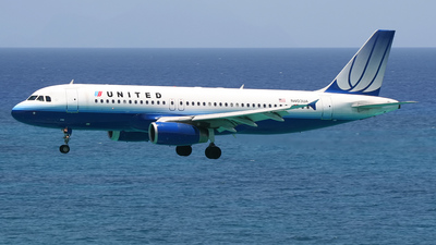 N403UA - Airbus A320-232 - United Airlines