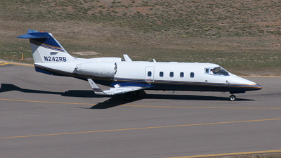 N242RB - Bombardier Learjet 55B - Private
