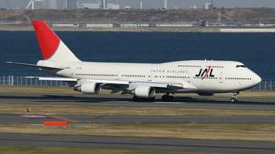 JA8908 - Boeing 747-446D - Japan Airlines (JAL)
