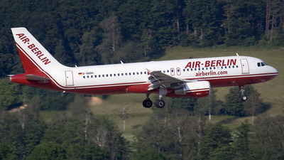 D-ABDH - Airbus A320-214 - Air Berlin