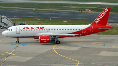 D-ALTB - Airbus A320-214 - Air Berlin (LTU)