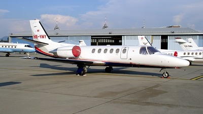 HB-VMY - Cessna 550B Citation Bravo - Jet Aviation Business Jets