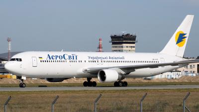 UR-VVO - Boeing 767-383(ER) - AeroSvit Ukrainian Airlines