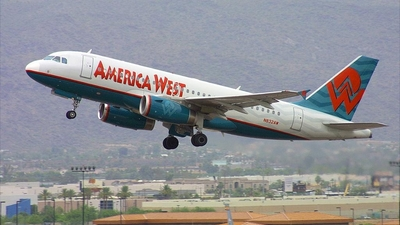 N823AW - Airbus A319-132 - America West Airlines