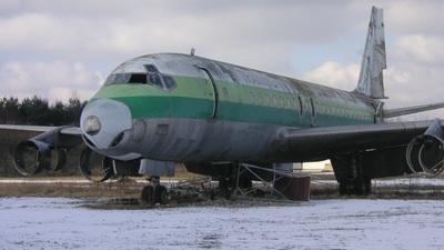 TU-TCP - Douglas DC-8-53 - Zurich Airport Authority
