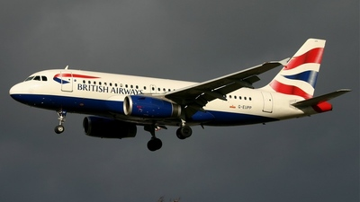 G-EUPP - Airbus A319-131 - British Airways