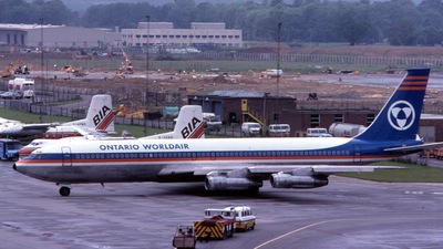 C-GRYN - Boeing 707-338C - Ontario Worldair