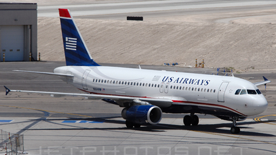 N664AW - Airbus A320-232 - US Airways