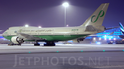 HZ-AWA1 - Boeing 747-4H6 - Alwafeer Air