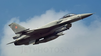 4069 - Lockheed Martin F-16C Fighting Falcon - Poland - Air Force